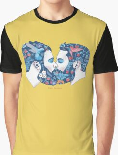 Beards in Love Graphic T-Shirt