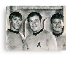 Vintage Trek by JS Canvas Print