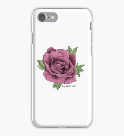 All Time Low Rose iPhone Case/Skin