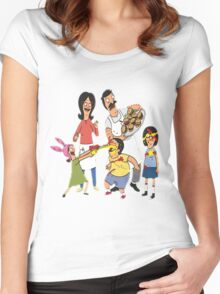 bobs burger Women's Fitted Scoop T-Shirt
