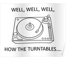 How the turntables Poster