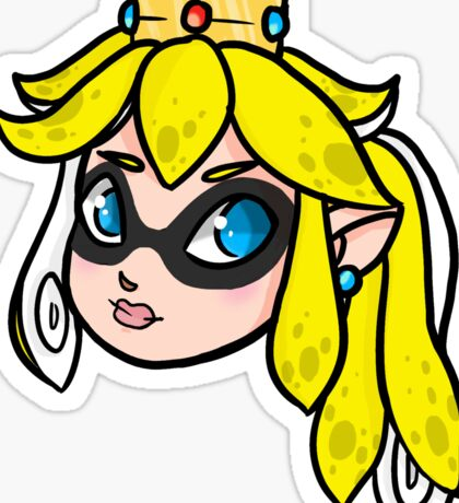 Nintendo Mash Up: Peach & Splatoon Sticker