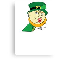 Y U No St Paddy's Day Leprechaun Canvas Print