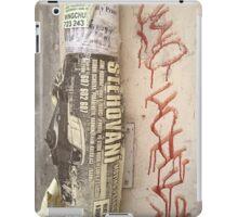 Czech Graffiti iPad Case/Skin