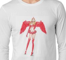 Angel in the town Long Sleeve T-Shirt
