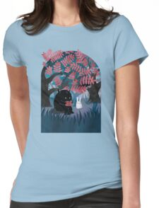 Another Quiet Spot Womens Fitted T-Shirt