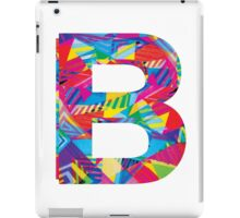Fun Letter - B iPad Case/Skin