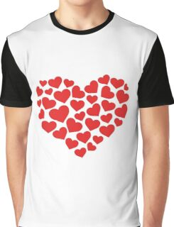 Heart art red Graphic T-Shirt