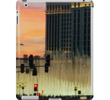 BELLAGIO FOUNTAINS from afar  ^ iPad Case/Skin