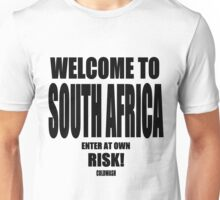 WELCOME TO SA Unisex T-Shirt