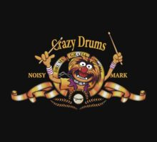 Crazy Drums One Piece - Short Sleeve