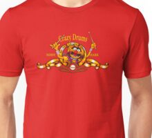 Crazy Drums Unisex T-Shirt