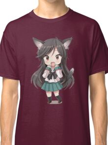 Anime cat girl chibi Classic T-Shirt
