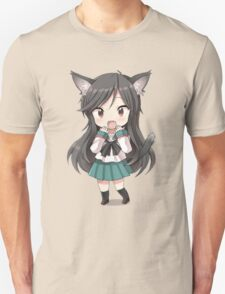 Anime cat girl chibi Unisex T-Shirt
