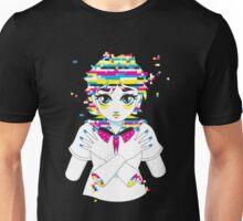 glitch girl 01 Unisex T-Shirt