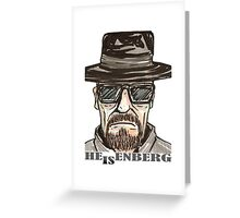 heisenberg1 Greeting Card