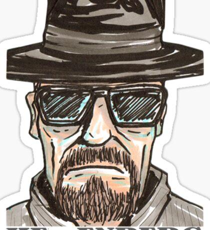 heisenberg1 Sticker