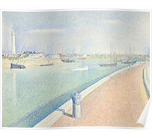 Georges Seurat  - The Channel of Gravelines, Petit Fort Philippe 1890 Poster