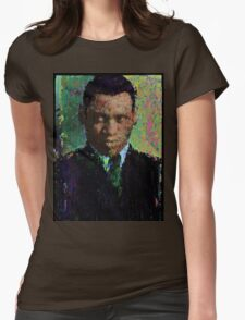 The Old Man and The River. Womens Fitted T-Shirt