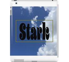 Stark Clouds iPad Case/Skin