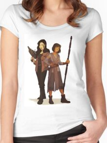 Korrasami Star Wars Crossover Women's Fitted Scoop T-Shirt