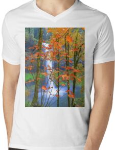 Next Page In The Book Of Nature Mens V-Neck T-Shirt