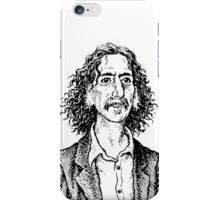 Frank Zappa by Crumb iPhone Case/Skin
