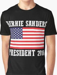 Bernie Sanders President 2016 Graphic T-Shirt