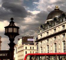 London - people Sticker