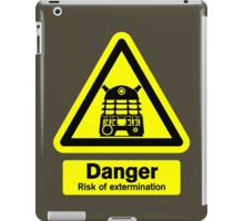 Dalek Danger! iPad Case/Skin