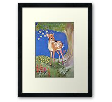 Fawn Princess Fairytails Collection by Once Upon a Time... Framed Print