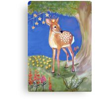 Fawn Princess Fairytails Collection by Once Upon a Time... Canvas Print
