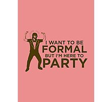 formal party Photographic Print