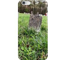"""'""""THE CEMETERY, a Series', No. 4, A Lone Stone""""... prints and products iPhone Case/Skin"""