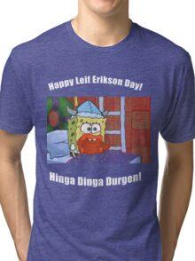 Happy Leif Erikson Day Tri-blend T-Shirt