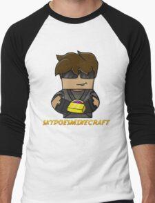 SkyDoesMinecraft Men's Baseball ¾ T-Shirt
