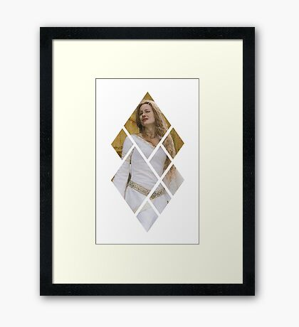 My Lady Eowyn Framed Print