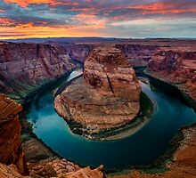 Horseshoe Bend by Radek Hofman