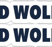 Bad Wolf roll call Sticker