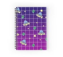 Alien Invasion Spiral Notebook