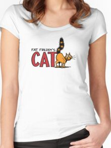 Fat Freddy's Cat Women's Fitted Scoop T-Shirt