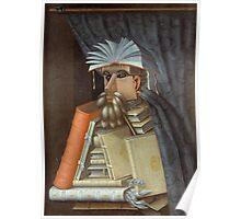 Giuseppe Arcimboldo - The Librarian 1562 Poster