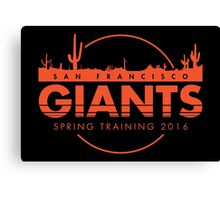 San Francisco Spring Training  Canvas Print