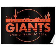 San Francisco Spring Training  Poster
