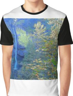 Nature Heals The Soul - Columbia River Gorge Graphic T-Shirt