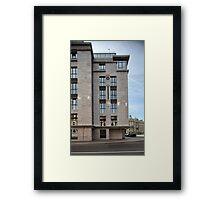 modern building Framed Print