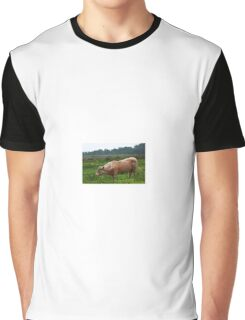Red Cow Graphic T-Shirt