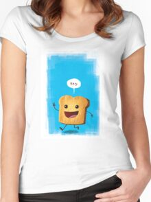 Hey, Toast! Women's Fitted Scoop T-Shirt