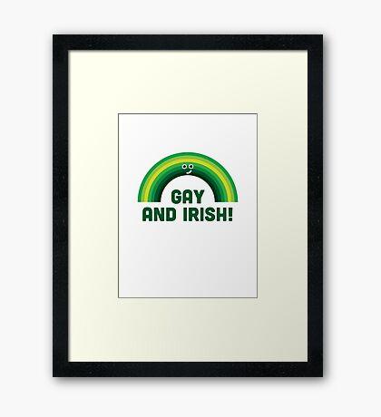 Character Building - Irish and Gay Framed Print