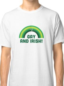 Character Building - Irish and Gay Classic T-Shirt